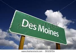 des moines sign 1