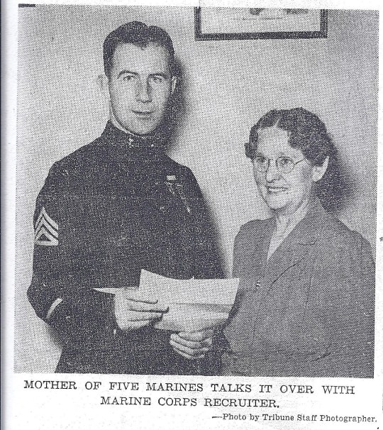 Grandma and Marine Recruiter